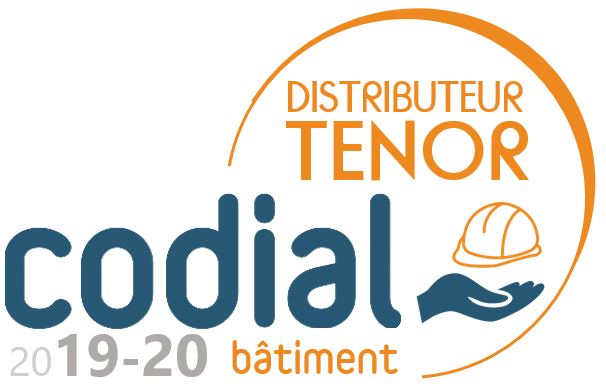 Logo Distributeur  Tenor Codial Batiment