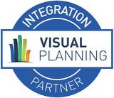 Logo VISUAL PLANNING